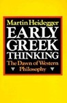 Early Greek Thinking: The Dawn of Western Philosophy