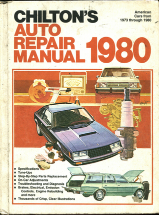 Chilton's Auto Repair Manual, 1980