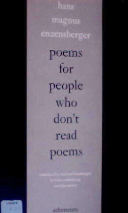 Poems for People Who Don't Read Poems
