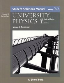 Student Solutions Manual University Physics with Modern Physics