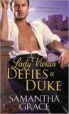 Lady Vivian Defies a Duke (Beau Monde #4)