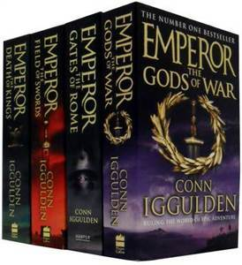 Emperor Series Collection: The Gods of War, The Field of Swords, The Death of Kings, The Gates of Rome