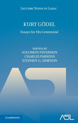 Kurt Godel: Essays for His Centennial
