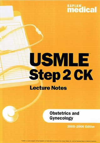 USMLE Step 2 CK Lecture Notes Obstetrics and Gynecology