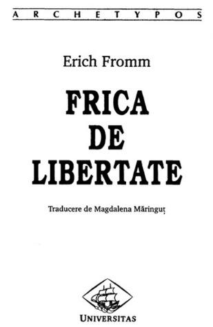 Ebook Fuga de libertate by Erich Fromm read!