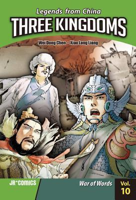 Three Kingdoms, Volume 10: War of Words (Three Kingdoms, #10)