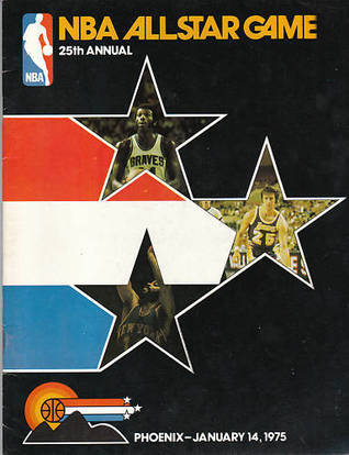 1975 NBA BASKETBALL ALL-STAR GAME PROGRAM @ PHOENIX