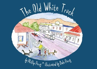 The Old White Truck by Phillip Percy