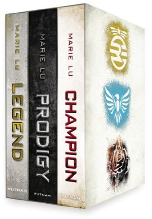 Legend Trilogy Boxed Set (Legend, #1-3)