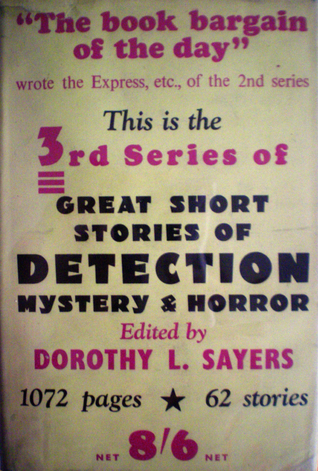 Great Short Stories of Detection, Mystery and Horror - Third Series