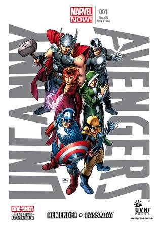 Uncanny Avengers 001 (Uncanny Avengers ed. argentina, #1)