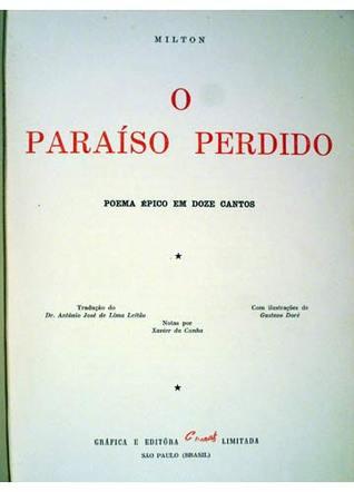 O paraíso perdido: poema épico em doze cantos