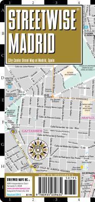 MAP:   Streetwise Madrid (Streetwise)