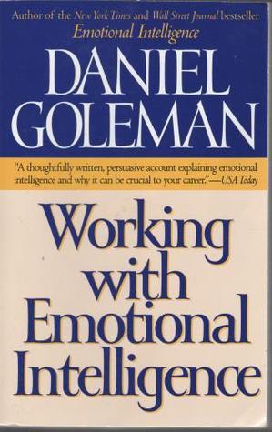 Working With Emotional Intelligence Daniel Goleman Ebook