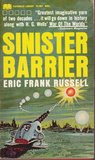 Sinister Barrier by Eric Frank Russell
