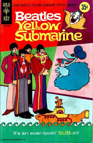 Beatles Yellow Submarine Comic Book - with Poster Centerfold