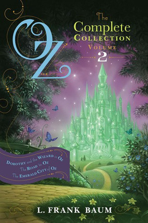 Dorothy and the Wizard in Oz; The Road to Oz; The Emerald City of Oz - Book 2