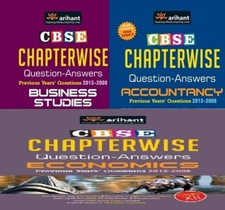 CBSE Chapterwise Question & Answers for Commerce, Class - 12 (Set of 3 Books)