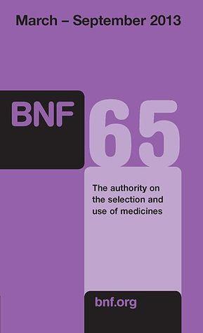 British National Formulary 65, March 2013 - September 2013
