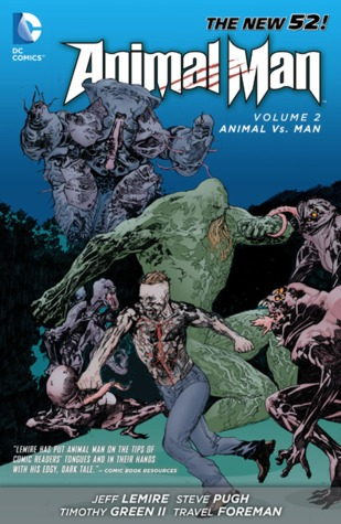 Descargar Animal man, volume 2: animal vs. man epub gratis online Jeff Lemire