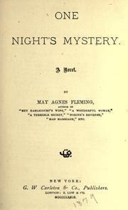 One Nights Mystery