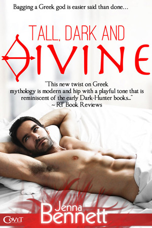 Tall, Dark and Divine (Bagging a Greek God, #1)