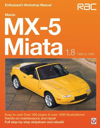 Mazda MX-5 Miata 1.8 1993 to 1999: Enthuasiast Workshop Manual