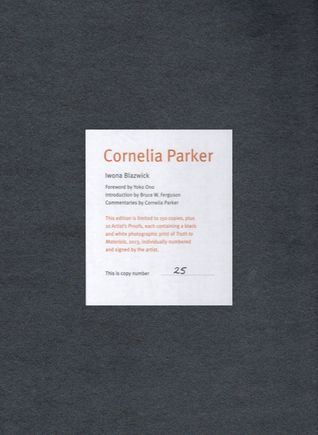 Cornelia Parker - Limited Edition