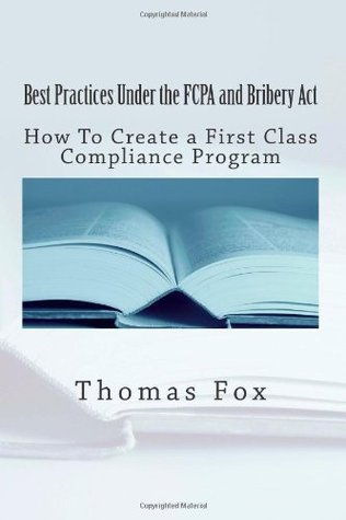 Best Practices under the FCPA and Bribery Act