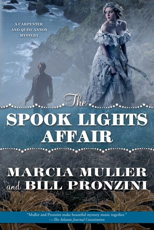 The Spook Lights Affair(A Carpenter and Quincannon Mystery 2)