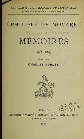 Mémoires (1218-1243)