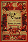 Jules Verne Seven Novels (Five Weeks in a Balloon, Around the World in Eighty Days, A Journey to the Center of the Earth, From the Earth to the Moon, Round the Moon, Twenty-Thousand Leagues Under the Sea and The Mysterious Island)