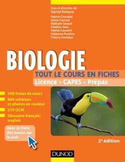 Biologie -Tout le cours en fiches