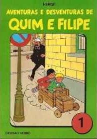 Aventuras e Desventuras de Quim e Filipe, Vol. 1