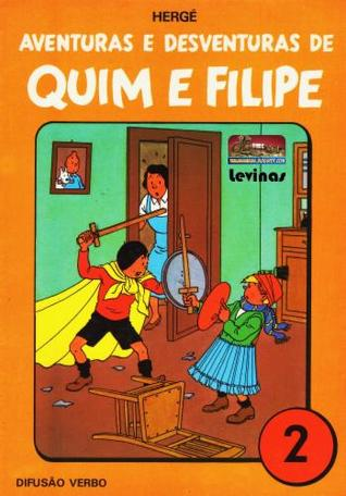 Aventuras e Desventuras de Quim e Filipe, Vol. 2