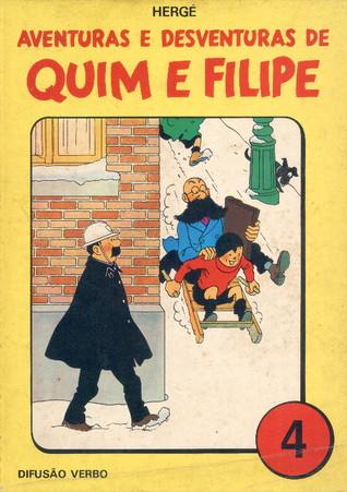 Aventuras e Desventuras de Quim e Filipe, Vol. 4