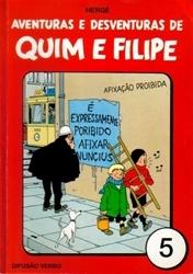 Aventuras e Desventuras de Quim e Filipe, Vol. 5