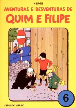 Aventuras e Desventuras de Quim e Filipe, Vol. 6