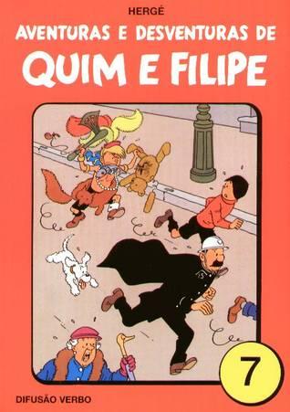 Aventuras e Desventuras de Quim e Filipe, Vol. 7