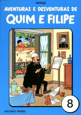 Aventuras e Desventuras de Quim e Filipe, Vol. 8