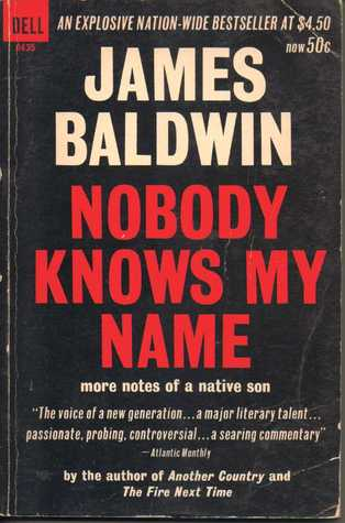 nobody knows my by james baldwin