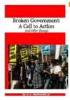 Broken Government: A Call to Action