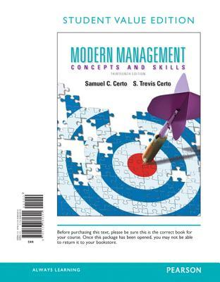 Modern Management Concepts And Skills 12th Edition Pdf