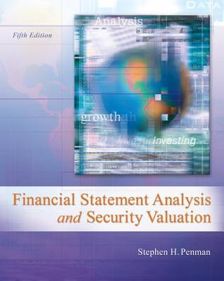 Financial statement analysis and security valuation by stephen h penman fandeluxe Gallery
