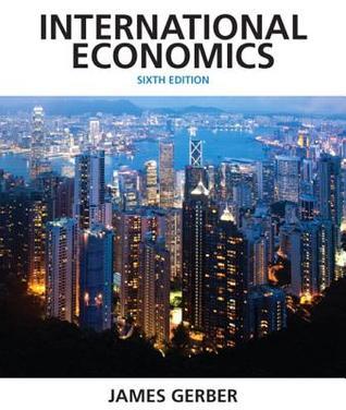 International economics by james gerber 17070294 fandeluxe Gallery