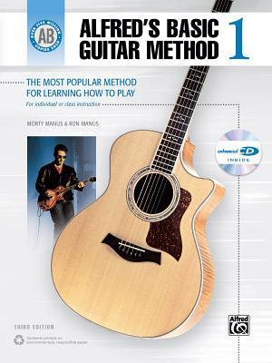 Alfred's Basic Guitar Method 1: The Most Popular Method for Learning How to Play [With CD]