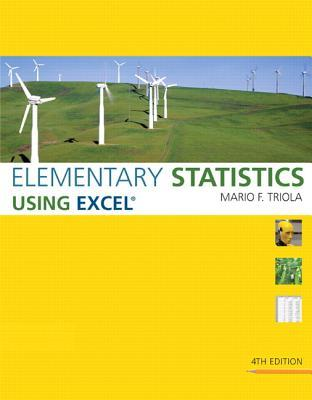 Elementary Statistics Using Excel [With CDROM]