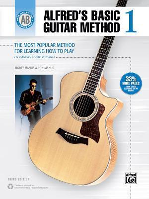 Alfred's Basic Guitar Method, Bk 1: The Most Popular Method for Learning How to Play