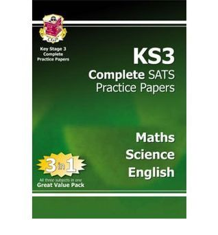 Maths, Science, English: KS3 Complete SATS Practice Papers