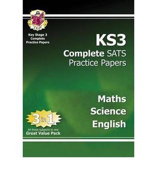 Maths, Science, English: KS3: Complete SATS Practice Papers
